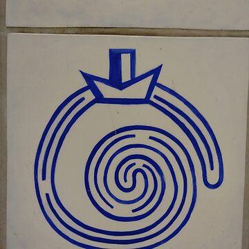 #circle #znamensk #design #symbol vector sign maze logo by znamenski