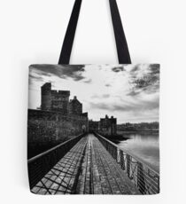 Dramatic Blackness Castle Tote Bag