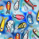 Fishes Ocean Current by rupydetequila