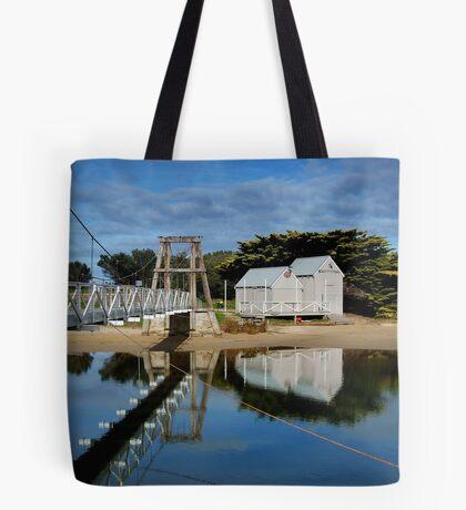 Swing Bridge Lorne Tote Bag