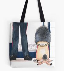 Little floursack and friend - visiting London Tote Bag