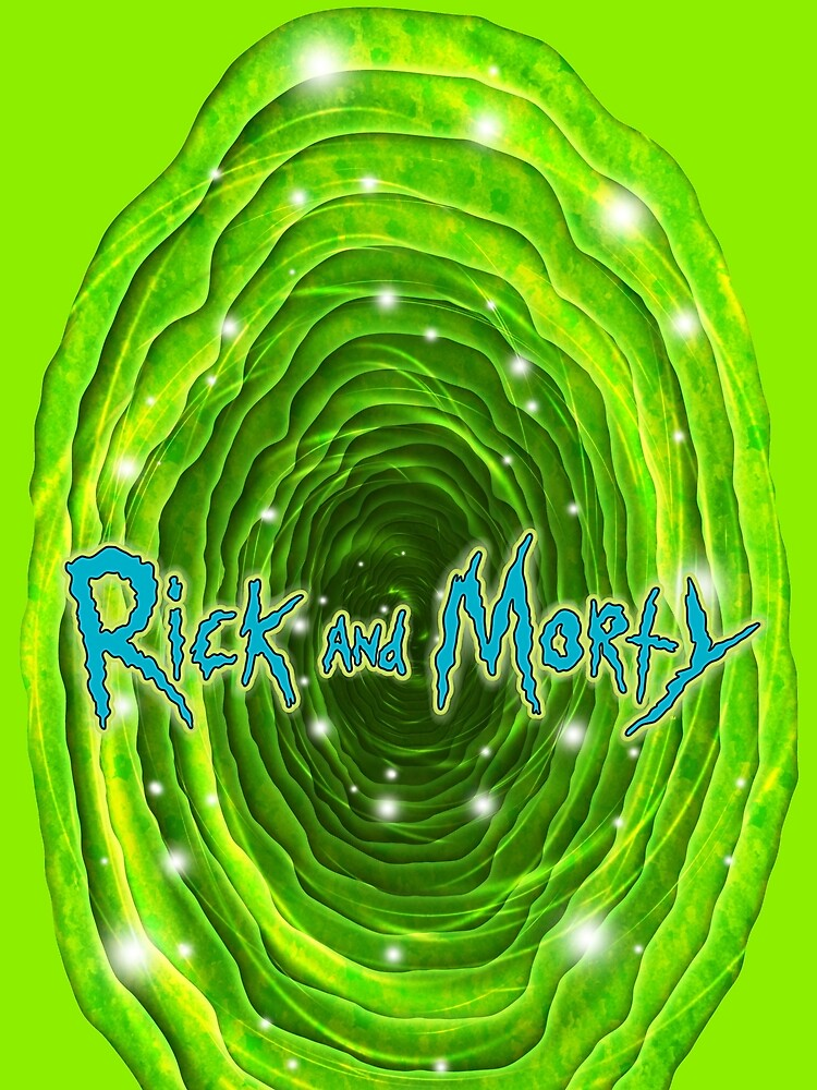 Rick and Morty Infinity Portal by Doomgriever