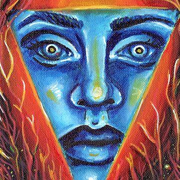 Immolation Dark Art Illuminati Design by KLoganArt