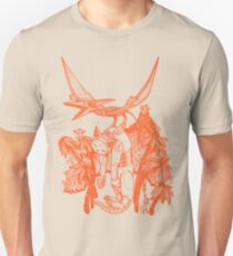 pterodactyl pilot Slim Fit T-Shirt
