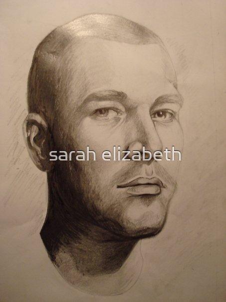 portrait of michael  by sarah elizabeth