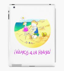 ¡Vamos a la playa, niños!  -  Let´s Go to the Beach, Kids!  - Auf zum Strand, Kinder! Vinilo o funda para iPad