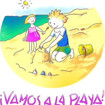 ¡Vamos a la playa, niños!  -  Let´s Go to the Beach, Kids!  - Auf zum Strand, Kinder! de reflejArte