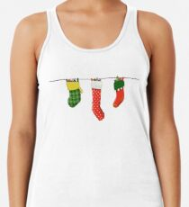 Three Christmas Stockings Women's Tank Top