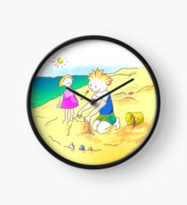 ¡Vamos a la playa, niños!  -  Let´s Go to the Beach, Kids!  - Auf zum Strand, Kinder! Reloj
