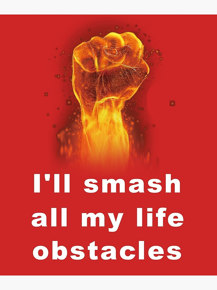 challenge obstacles T-shirt, Life difficulties by ARO10