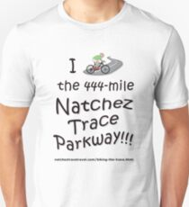 I Biked the Natchez Trace Parkway. Slim Fit T-Shirt