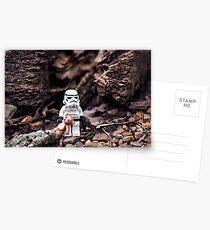 Sicherheit Postkarten