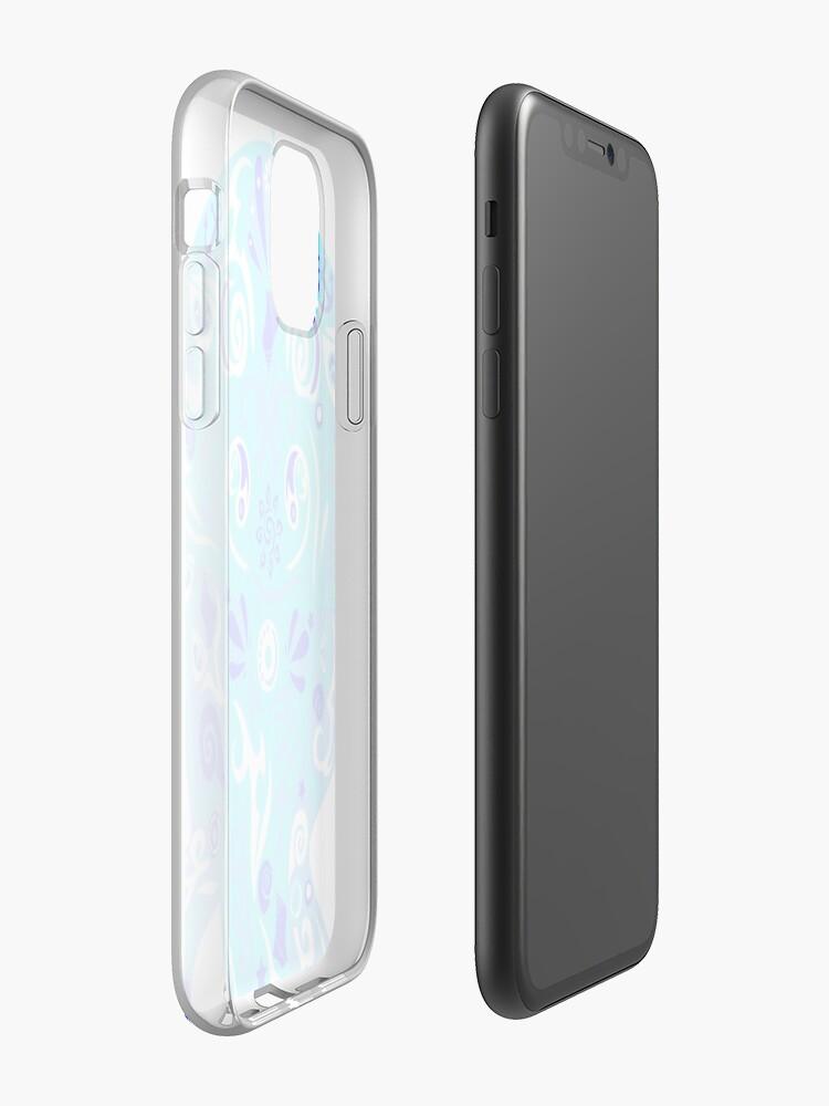 Coque iPhone «Blue JellyFish», par AthleticHeroes