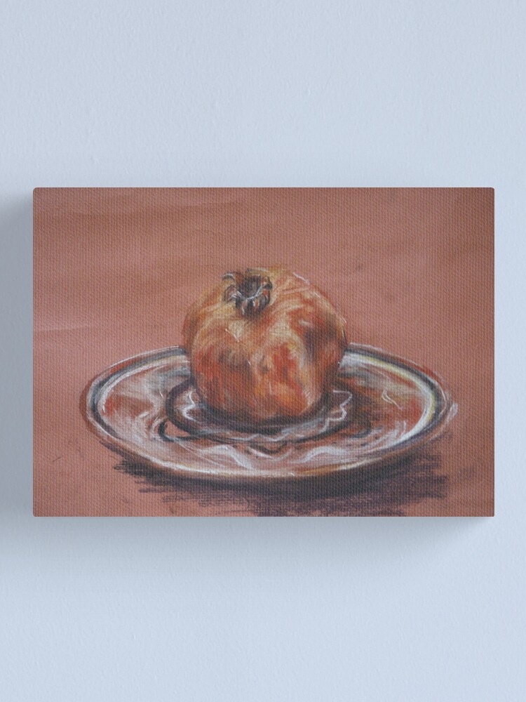 Alternate view of Pomegranate Canvas Print