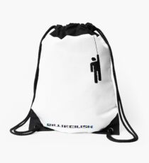 billie eilish  Drawstring Bag