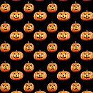 Cute Funny Jack-O-Lanterns by dkatesmith