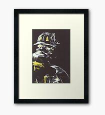 Fireman's Axe Framed Print