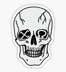 srat skull Sticker