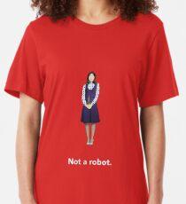 Not A Robot Slim Fit T-Shirt