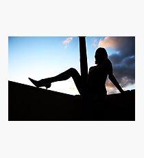 silhouette Photographic Print
