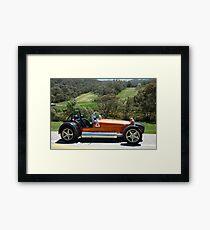 Orange PRB - PRBZZ Framed Print