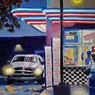 Frozen Custard Stand by Pamela Burger