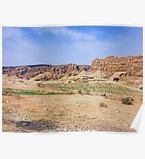 an inspiring Jordan landscape Poster