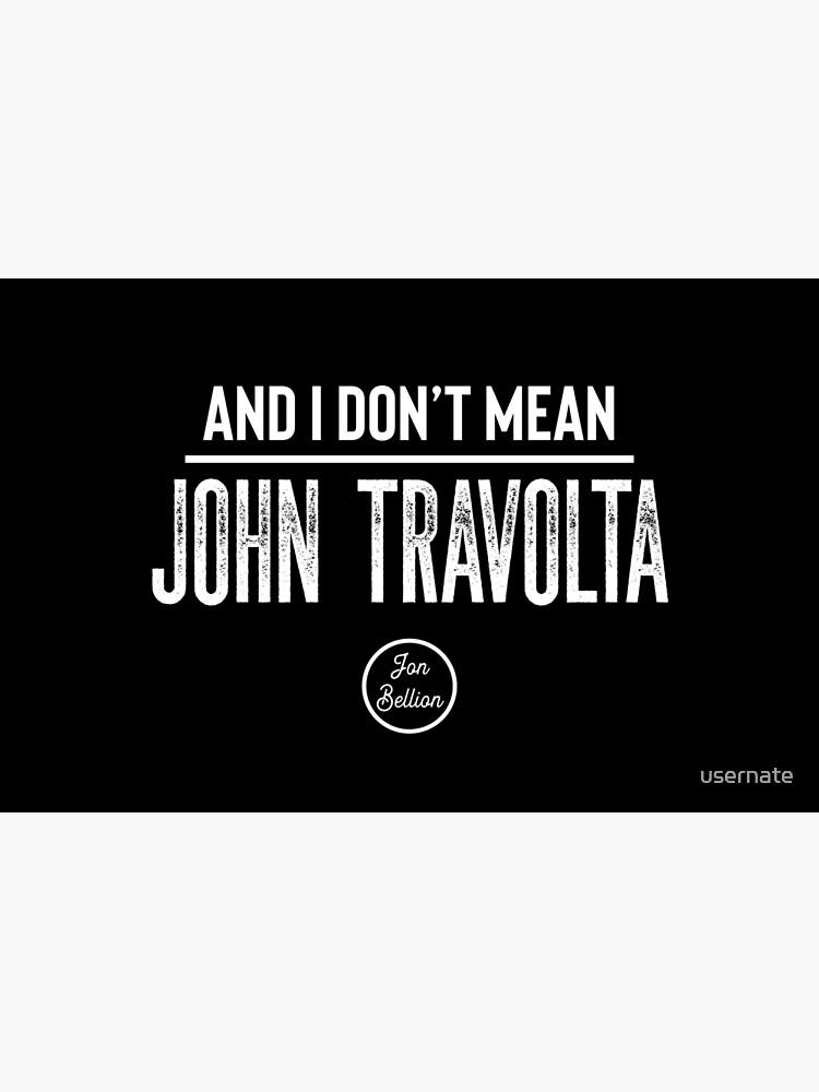 John Travolta von usernate