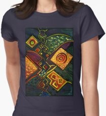 GALAXY SPARKLES Women's Fitted T-Shirt