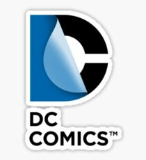 DC Comics New Logo  Sticker