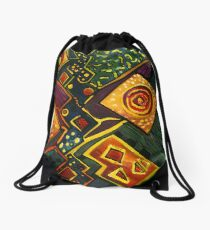 GALAXY SPARKLES Drawstring Bag