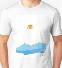 Penguin, Orange Unisex T-Shirt