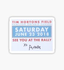 Arkells Rally Sticker