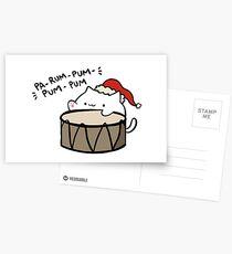 Pa-rum-pum-pum-pum! Postcards