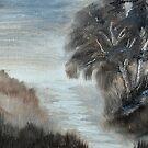 Wetlands Light 2 by Warren  Thompson