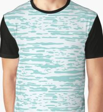 Calm Ocean Resort Pattern Graphic T-Shirt