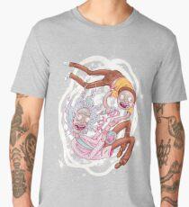 Camiseta premium para hombre Rick y Morty - La dimensión pastel