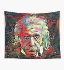 Dunkle Materie - Albert Einstein Wandbehang