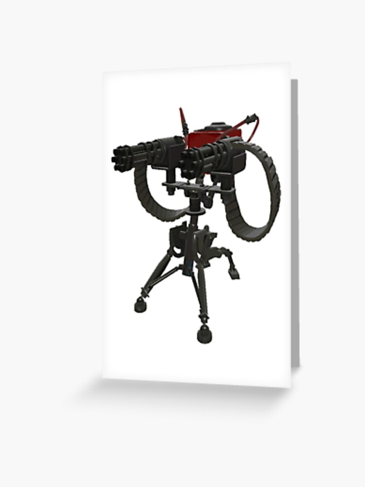 Level 2 Sentry From Team Fortress 2 Tshirt - Tf2 Engineer Lvl 2 Sentry |  Greeting Card