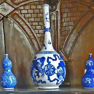 Antique Vases in Lyme Park by grmahyde