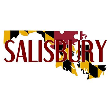Salisbury State Outline by swagner96