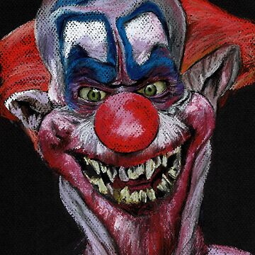 K is for Killer Clown  by ChantalHandley-