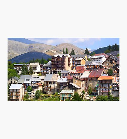 Beuil picturesque village Photographic Print