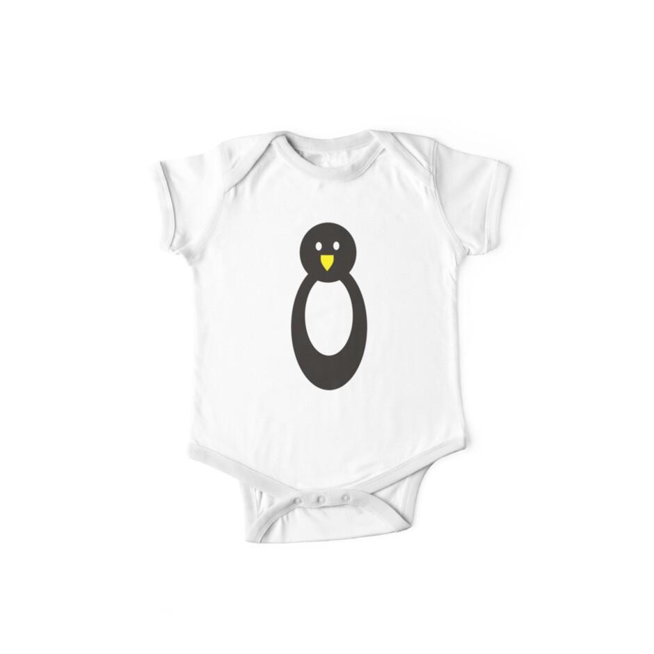 Hoodz Penguin by Ady van de Plas