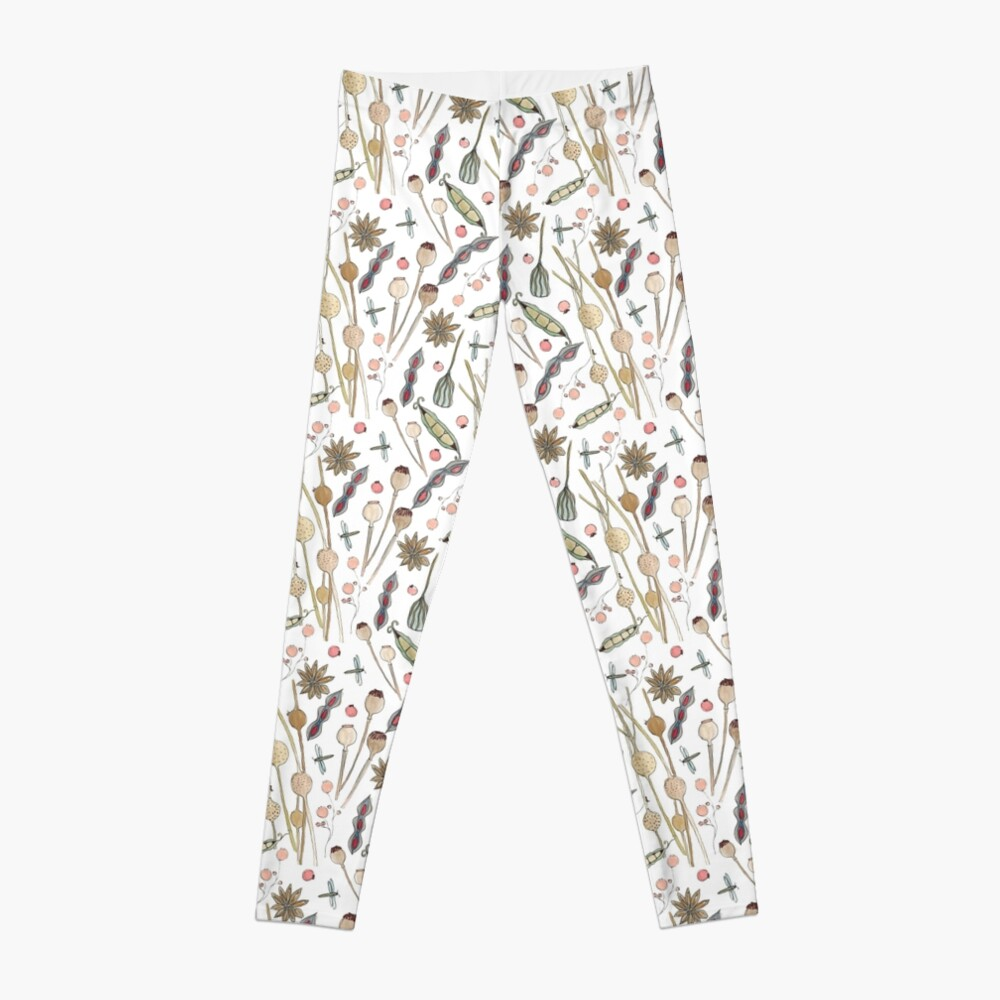 Seed Pods in the Wild Leggings
