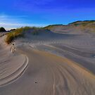 Lines and patterns in the sand by Adri  Padmos