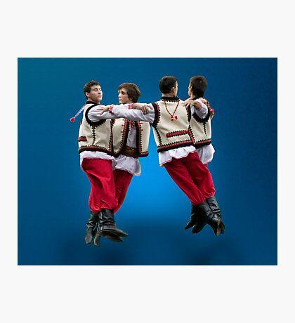 Ukrainian Dancers-Arkan Photographic Print