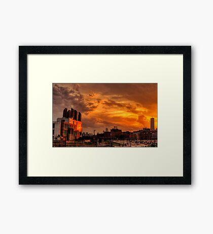 Sun Reflection, III Framed Print
