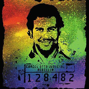 King Pablo Escobar by Desenatorul1976