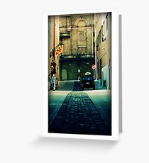 City alley Greeting Card